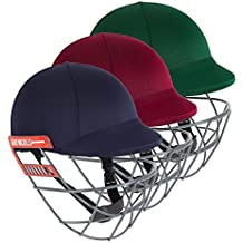 Gray Nicolls Test Opener Cricket Helmet - Senior (Navy,X Large) by Gray-Nicolls