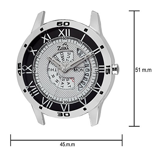 ZIERA ZR7045 New Tag Price Day and Date Functioning Watch – For Men and Boys