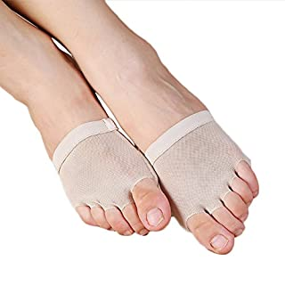 Feicuan Tanz Halbsohle Toe-separating Fuß Thong Dance Paw Shoes Mittelfuß Pads