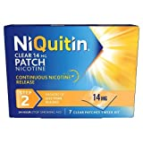 NiQuitin Clear 24 Hour 7 Patches Step 2, 14mg - 1 Week Kit