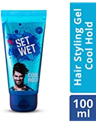 Set Wet Cool Hold Hair Gel, 100 ml Tube