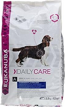 Eukanuba Daily Care Surpoids/Stérilisés - Croquettes pour Chien Adulte en situation de surpoids ou stérilisé - Poulet - 12,5kg