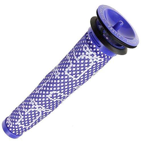 Handheld-ersatz-filter (1 Stück Filterpatronen Filter für V6 V8 Animal Cordless Handheld Vac DC58 DC59, Staubsauger Waschbar & Wiederverwendbar Vorfilter Ersatzteil für Dyson)