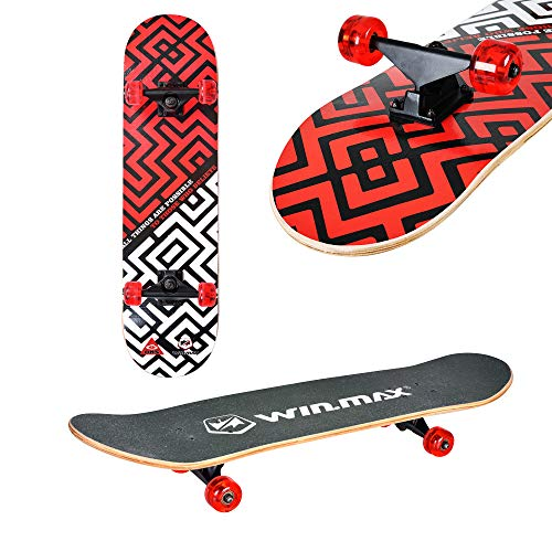 Zoom IMG-2 win max skateboard completo double