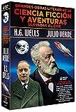 Pack Grandes Obras Literarias de Ciencia Ficción y Aventuras Llevadas al Cine: Julio Verne + H.G. Wells [DVD]