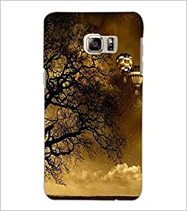 PrintDhaba Scary Night D-2430 Back Case Cover for SAMSUNG GALAXY NOTE 5 (Multi-Coloured)
