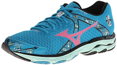 Mizuno Wave Inspire 10 Synthétique Chaussure de Course Sea-Pink-Hyndew