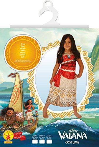 Imagen de vaiana, disfraz vaiana classic, s 3  4 años  alternativa