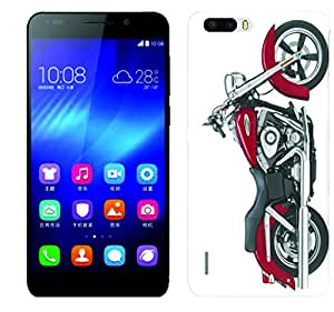 Wow 3D Printed Designer Mobile Case Back Cover for Honor 6 Plus/Honor 6 Plus