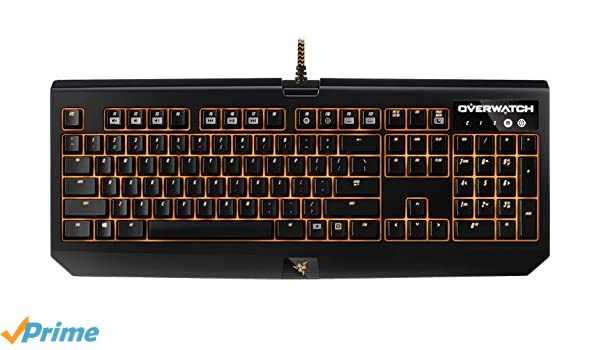 1b32163e4cb Razer BlackWidow Chroma Overwatch Edition Gaming Keyboard US Layout:  Amazon.co.uk: Computers & Accessories