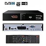 FREE LIVE 3000 Décodeur satellite FTA HD SD Péritel Chaines gratuites étrangères uniquement