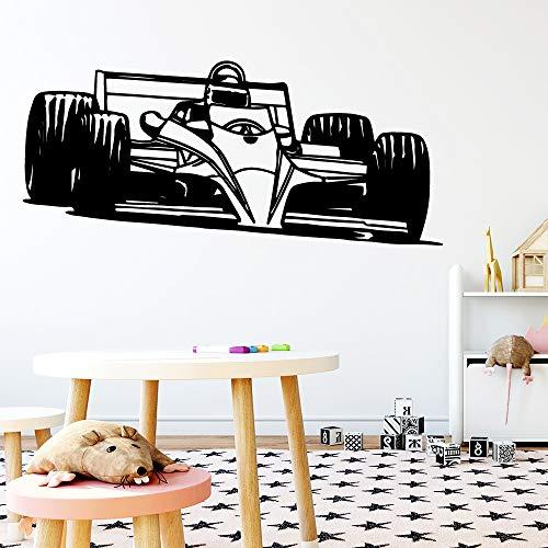 Persönlichkeit Auto Kinderzimmer Wohnzimmer Wandaufkleber Wasserdicht Dekoration Vinyl Aufkleber Diy Home Wanddekoration Rosa L 42 cm X 95 cm