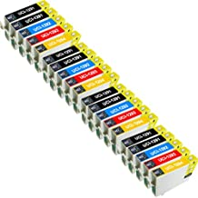 UCI 20 ( 8 Negro 4C 4M 4Y ) cartuchos de tinta compatibles reemplazado Epson T1291 T1292 T1293 T1294 T1295 para Epson Impresora ( No-Original )