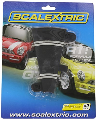 Hornby France - C8278 - Scalextric - Voiture - Rail courbe 22.5°