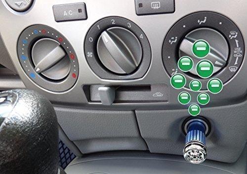 Deodorante Per Auto Purificatore d' Aria Ionizzatore Filtro Antiodore neutralizator PKW