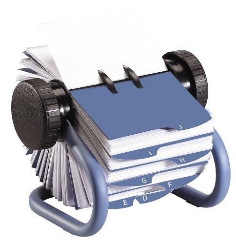 Rolodex Visitenkarten-Rollkartei 200 Card (Standard) blau