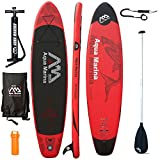 AQUA MARINA Monster SUP inflatable Stand Up Paddle Surfboard Modell 2016 Board+Paddle+Leash