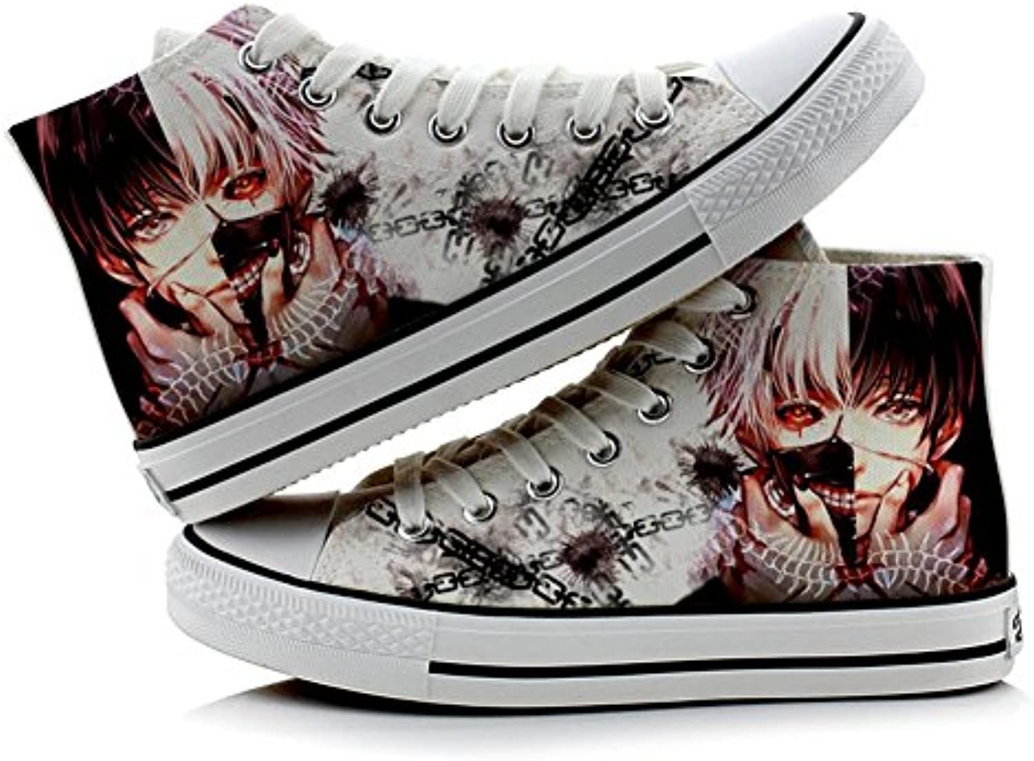 Tokyo Ghoul canvas Kaneki Ken Cosplay Shoes canvas Ghoul Shoes sneakers Colourful 1, Uomo Ragazzi donna, colourful Parent 7f964a