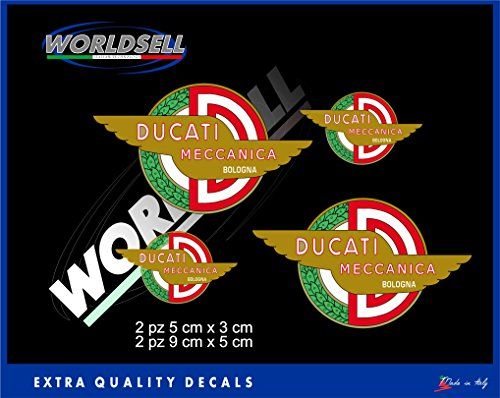 Aufkleber Aufkleber Alte mechanische DUCATI CORSE DESMO CAFE RACER PASO POUL SMART 2
