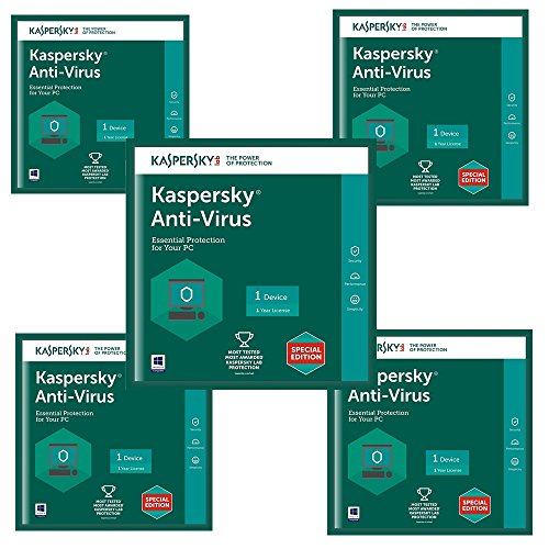 Kaspersky Antivirus Software 5 User 1 Year Validity (5cds 5serial Keys Every Key 1Year Validity) first Try After Buy Trial Download Link (https://www.kaspersky.co.in/downloads/thank-you/antivirus-free-trial) Toll Free 000-8000-401-097