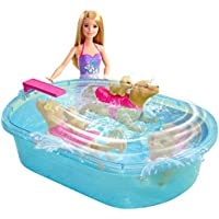 Barbie DMC32 Swimming' Pup Pool Doll