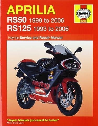 Aprilia RS50 1999 - 2006 & RS125 1993 - 2006: