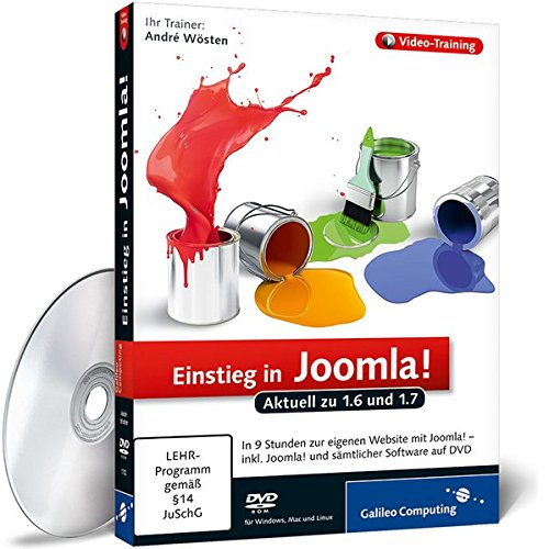 Joomla! 1.6 - Das umfassende Video-Training -