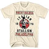 2Bhip Rocky 1970 sport boxen action-film rocky balboa T-shirt für Herren XX-Groß Weiß