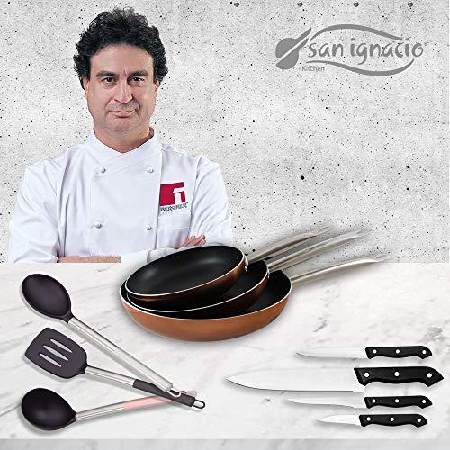 San Ignacio Professional Chef Copper Set 3 sartenes