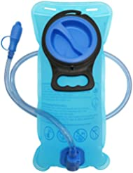 Bolsa de Hidratación, XBoze Bolsa de Agua Portátil de 1,5 Litro TPU Vejiga Agua Para Ciclismo Senderismo Campamento Mochilas (1,5L)