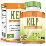 Kelp – Alga Kelp 600mg – Gran fuente de Yodo. Rica en vitaminas y minerales. Suplemento máxima concentración hombres y mujeres - Apto vegetarianos - 120 Cápsulas (Suministro 4 meses) de Earths Design
