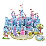 TAOtTAO Jigsaw Puzzle 3D Paper Board Puzzle Früherziehung Bau Montieren Spielzeug Kinder Geschenk (B)