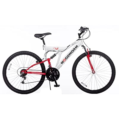 "Woodworm GXI PRO Dual Suspension 26"" Mens Mountain Bike"