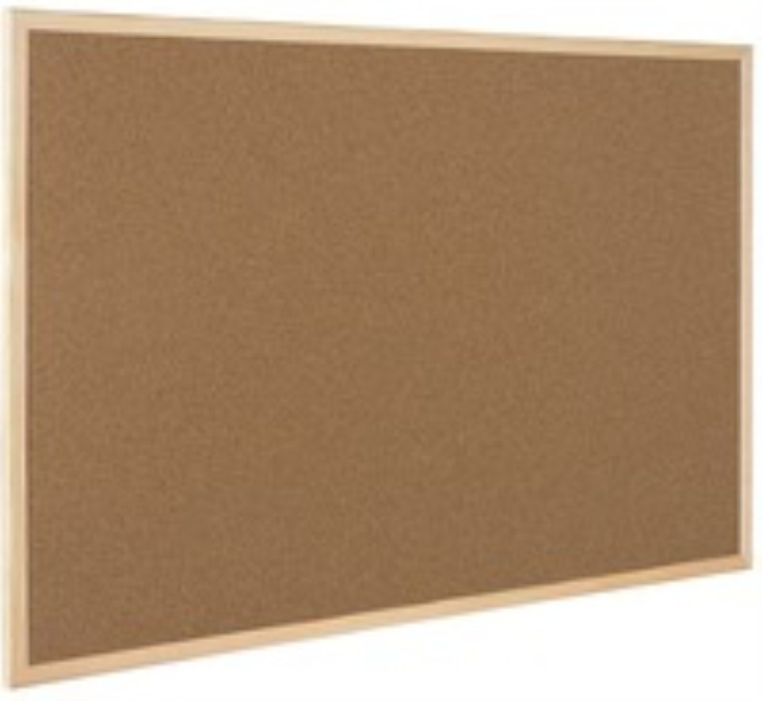 Q-Connect Wooden Frame 600 x 900 mm Cork Board: Amazon.co.uk: Office  Products