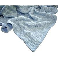 Zoog - Manta de algodón orgánico de calidad premium con certificado GOTS no químico, no