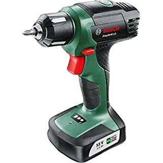 Bosch EasyDrill 12 Cordless Drill/Driver with Integrated 12 V Lithium-Ion Battery and Carton