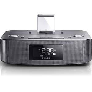 philips dc295 12 dockingstation mit radio wecker elektronik. Black Bedroom Furniture Sets. Home Design Ideas