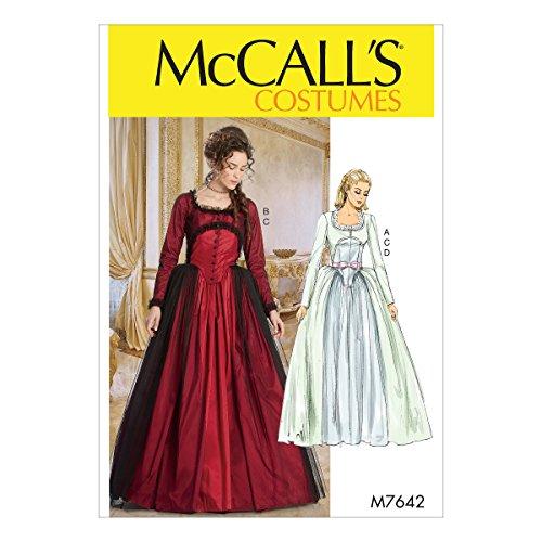 McCall 's Patterns 7642A5Schnittmuster Kostüm, mehrfarbig (Mccall Pattern Kostüme)