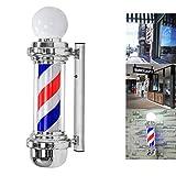 HULYZLB Barber Pole LED68 cm / 26in LED Barber Pole Light, Impermeabile Risparmia energia Lampade rotanti a Strisce,A