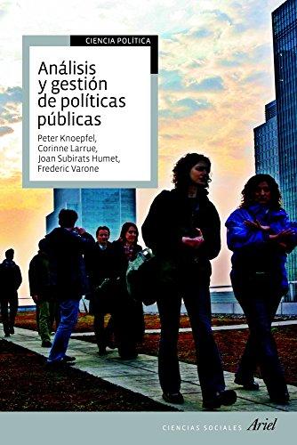 Análisis y gestión de políticas públicas (Ariel Ciencias Sociales)