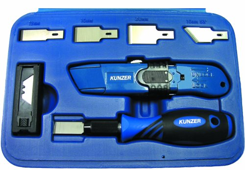 Preisvergleich Produktbild Kunzer 7MS27 Messer- und Schabersatz,  27-Teilig im Koffer