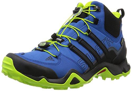 Adidas Terrex Rápida R Meados Homens Gtx Caminhadas Sapato Azul Kombi