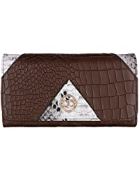 Gio Collection Women's Brown Wallet