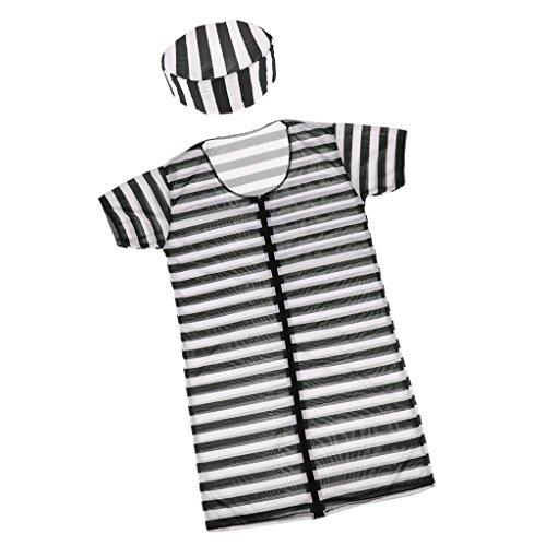 Gazechimp Herren Kinder Damen Kostüm - Dame (Jailbird Kostüm Hut)