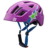 Kinderfahrradhelm Maxster purple star #111813C2 Größe 51 - 56 cm Cratoni