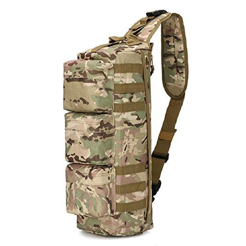 LIFEIFENG LF&F Backpack Outdoor 12-20L Sac de Camouflage Tactique Sac de Sport Sac d'alpinisme extérieur Sac à bandoulière Tactique Sac Cargo aéroport imperméable Portable Sac à Dos Vert