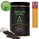 Tè Oolong Teamonk Darjeeling per dimagrire, 100 g (50 tazze) | Tè sfuso al 100% naturale | Tapas Oolong Tea for Weight Loss | Nessun additivo, certificato USDA