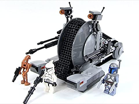 Review: Lego Star Wars Corporate Alliance Tank Droid Review Set 75015
