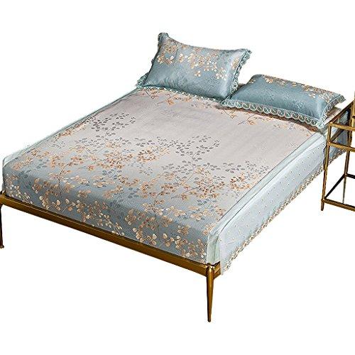 Liuyu · Tapis de soie de glace trois séries de tapis de conditionnement d'air de double matelas d'été lit de 1.5m / 1.8m sans bavures, personnes âgées, femmes enceintes utilisation