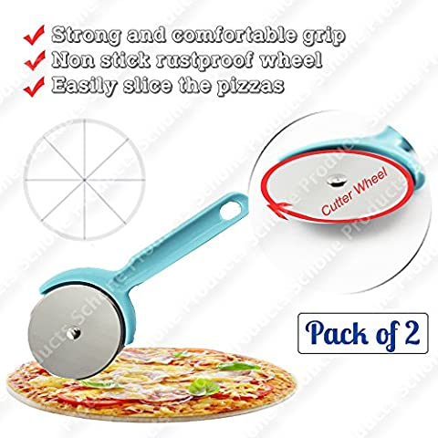 Antiruggine Wheel Pizza Cutter, forte e impugnatura